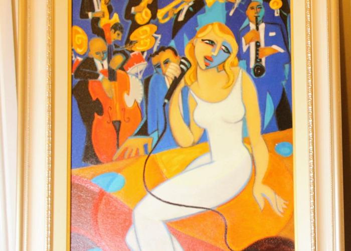 Two Paintings, Marsha Hamm paintings - 2