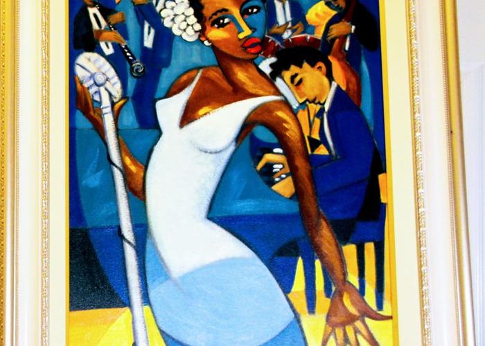 Two Paintings, Marsha Hamm paintings - 1