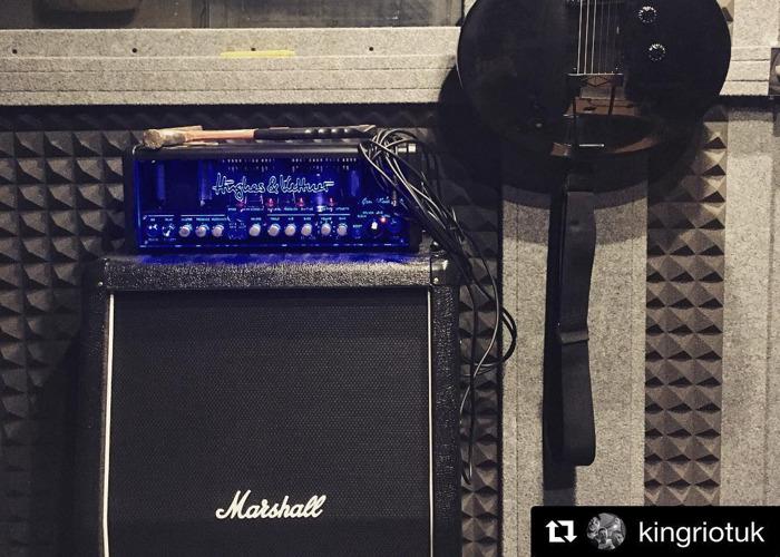 Marshall 2x12 Celestion Neo Creamback guitar amp speaker cab - 2