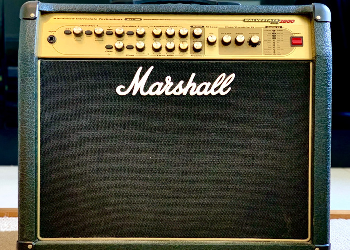 Marshall AVT 100w guitar amp. 3 channels with FX and footswitch - 1