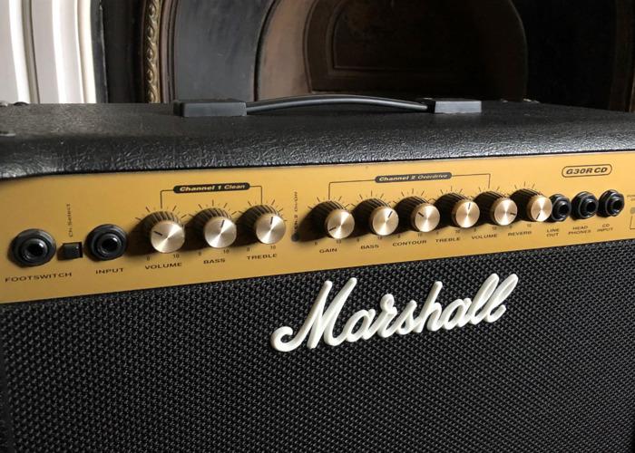 Marshall G30 RCD 30W Small Gig/Practice Guitar Amp - 2