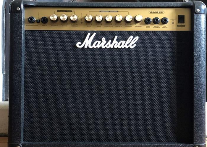 Marshall G30 RCD 30W Small Gig/Practice Guitar Amp - 1