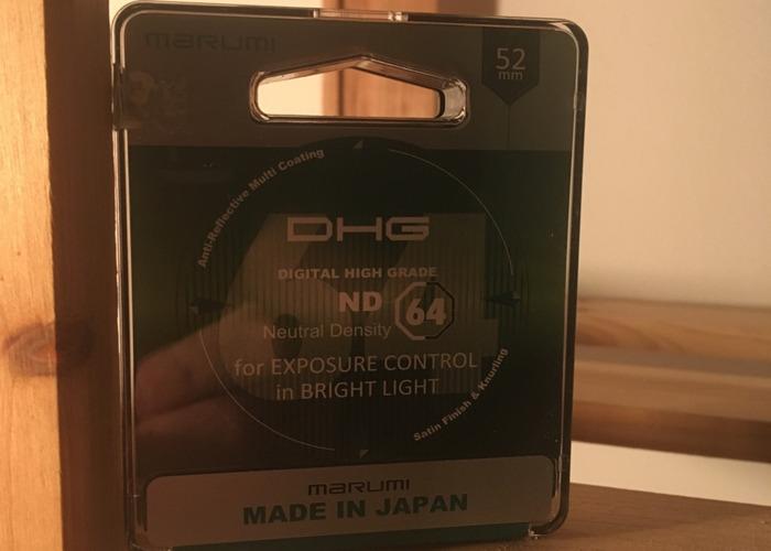 Marumi 52 mm ND64 Filter - 1
