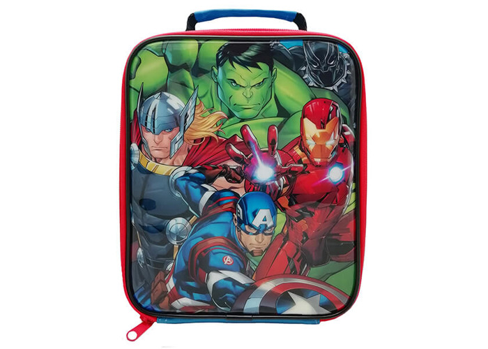 Marvel Avengers Classic Rectangular Lunch Bag - 1