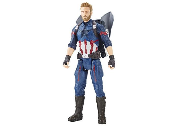 Marvel Avengers: Infinity War Titan Hero Power FX Captain America - 1