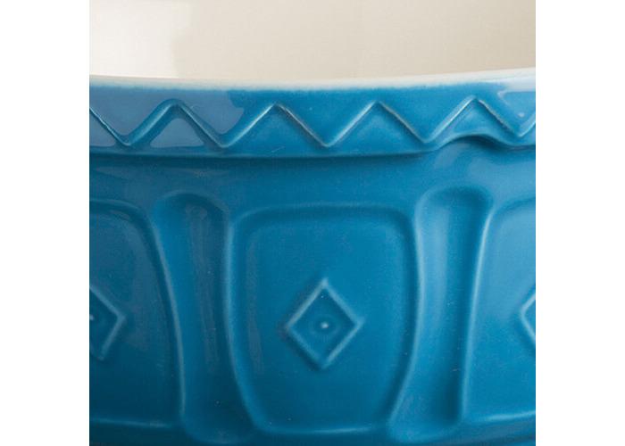Mason Cash colour Mix Azure S24 Chip Resistant Earthenware 24cm Mixing Bowl - 2