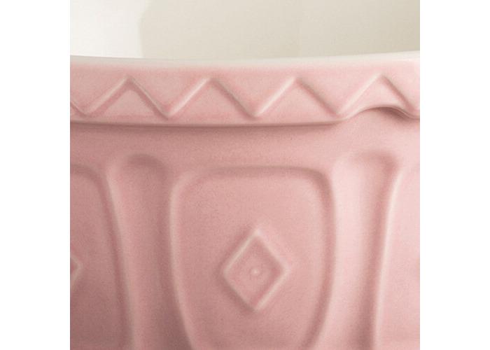 Mason Cash colour Mix Powder Pink S24 Chip Resistant Earthenware 24cm Mixing Bowl - 2