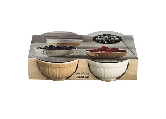 Mason Cash Original Cane Set of 4 Food Preparation Bowls - 2001.126 - 2