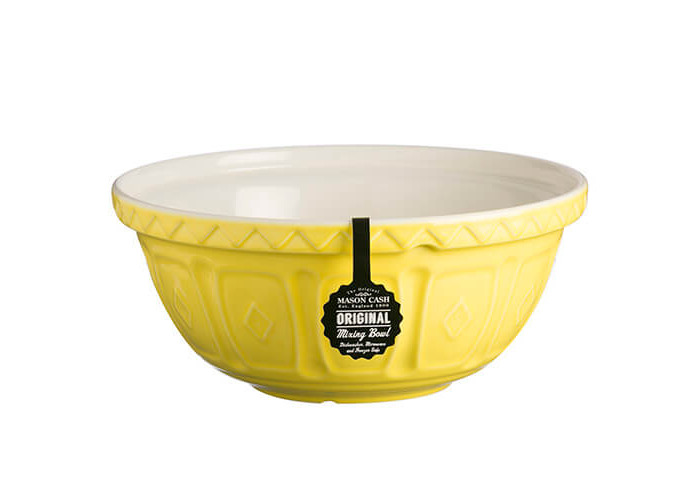 Mason Cash S12 colour Mix Bright Yellow Chip Resistant Earthenware Mixing Bowl 29cm Diamete - 2