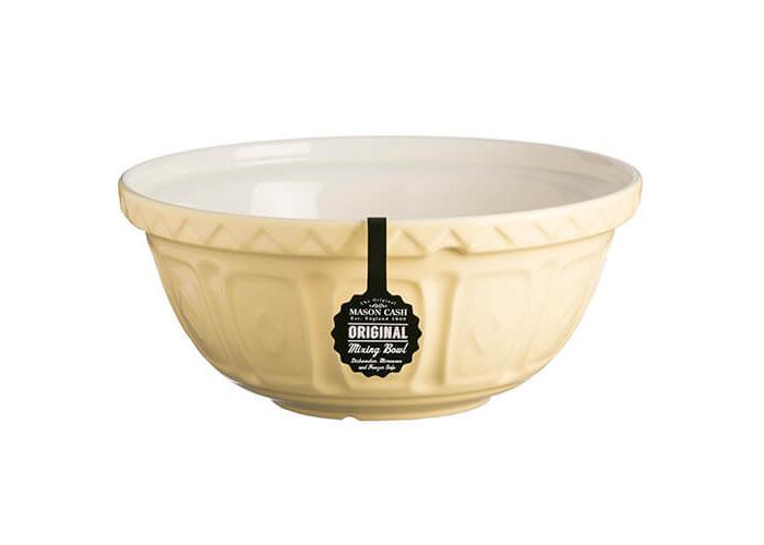 Mason Cash S12 colour Mix Vanilla Chip Resistant Earthenware Mixing Bowl 29cm Diameter - 2