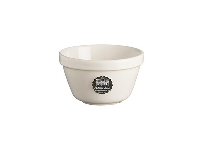 Mason Cash White Pudding Basin 16cm | Size 36 Pudding Basin, Pudding Bowl, Ceramic Pudding Basin - 1