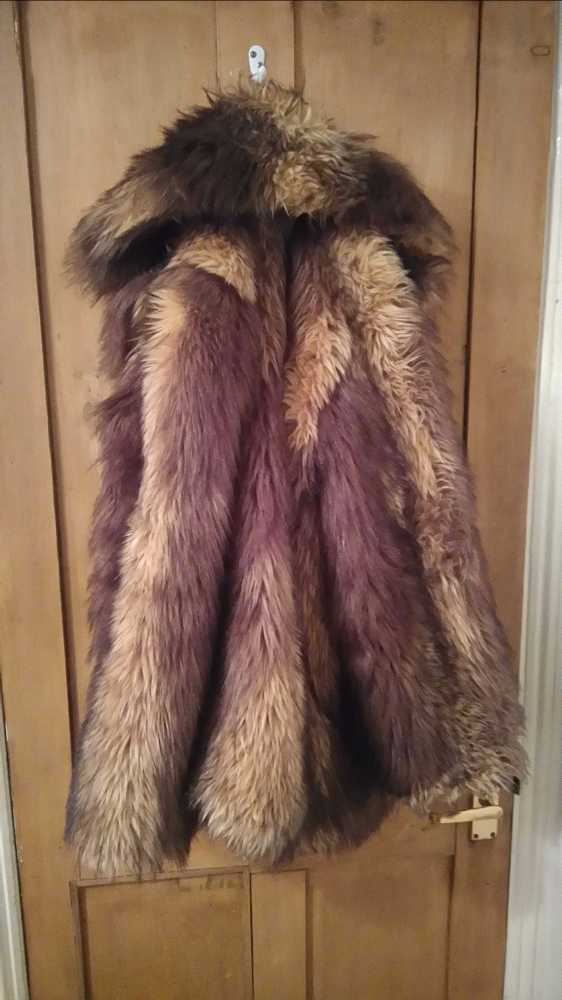 Massive Faux Fur Coat! - 1