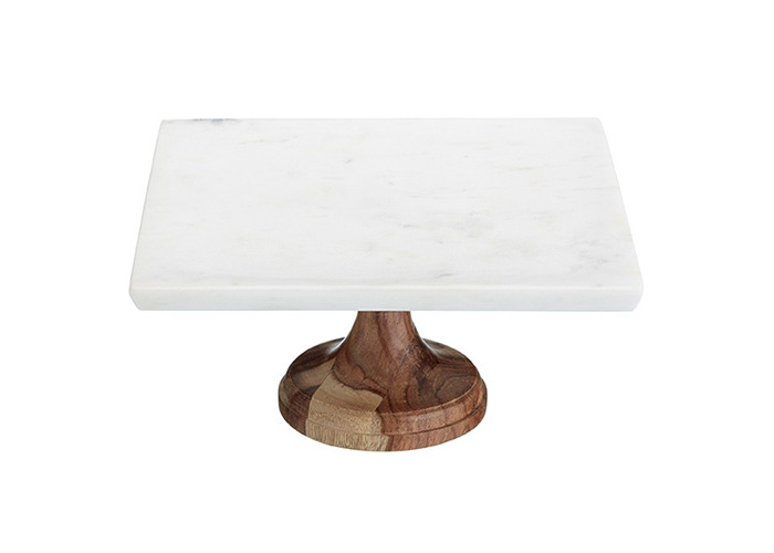 Master Class 25 x 25 cm Artesa Marble Serving Stand - 1