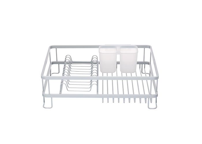 "Master Class Aluminium Anti-Rust Dish Drainer Rack, 42 x 30 x 13 cm (16.5"" x 12"" x 5"") - 1"