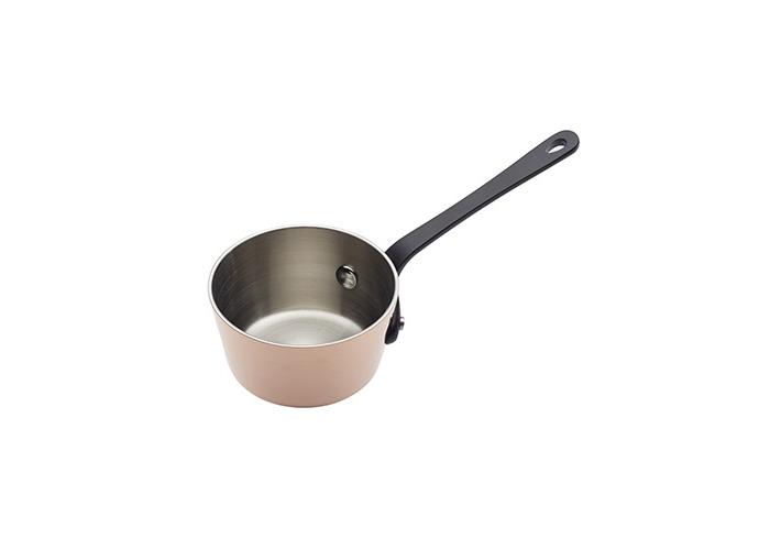 "Master Class Artesà Tri-Ply Copper Mini Saucepan, 8.5 cm (3.5"") - 1"