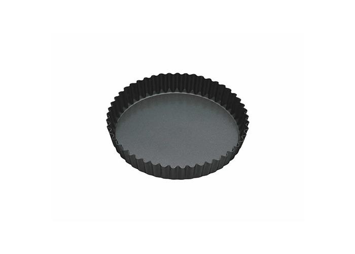 "Master Class Non-Stick Fluted Loose Base Quiche Tin Round 18cm (7"") - 1"