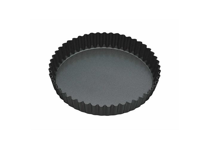 "Master Class Non-Stick Fluted Loose Base Quiche Tin Round 23cm (9"") - 1"