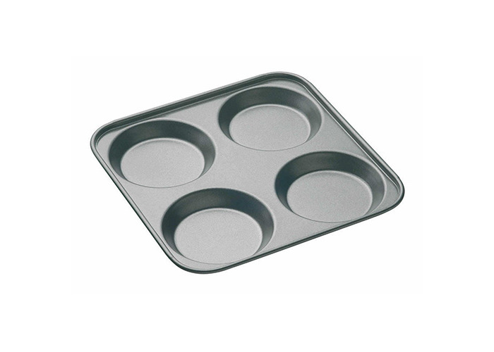 Master Class Non-Stick Four Hole Yorkshire Pudding Pan 24cm - 1
