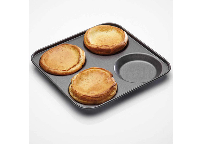 Master Class Non-Stick Four Hole Yorkshire Pudding Pan 24cm - 2