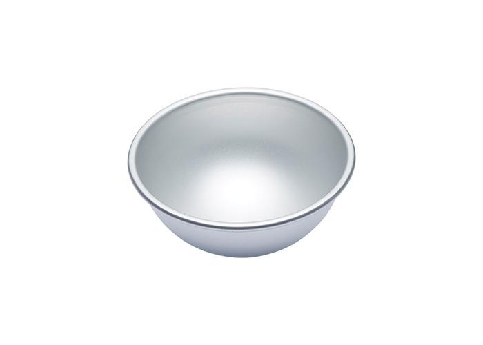 Master Class Silver Anodised 15cm Hemisphere Cake Pan - 1