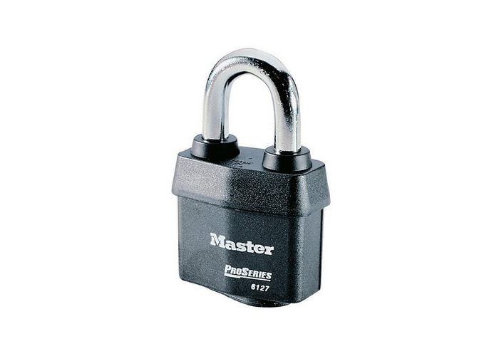Master Lock Tower 37mm Padlock 4-Digit Grey MLK1535GRY