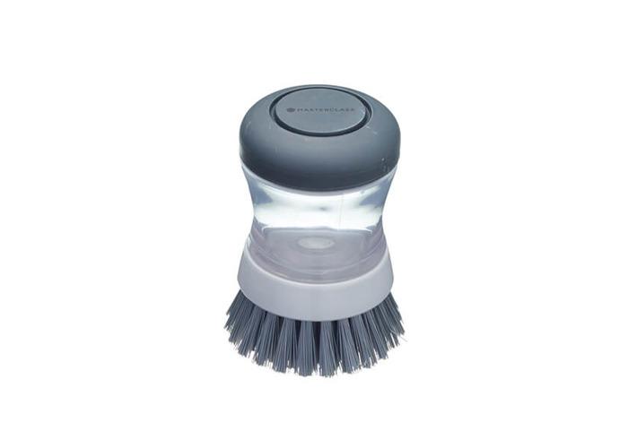 MasterClass Soap Dispensing Palm Scrubbing Brush - 1