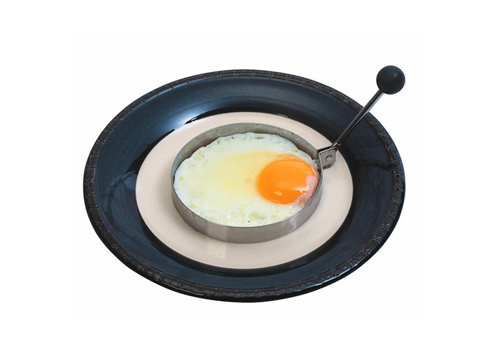 MasterClass Stainless Steel Professional Egg Ring - 1