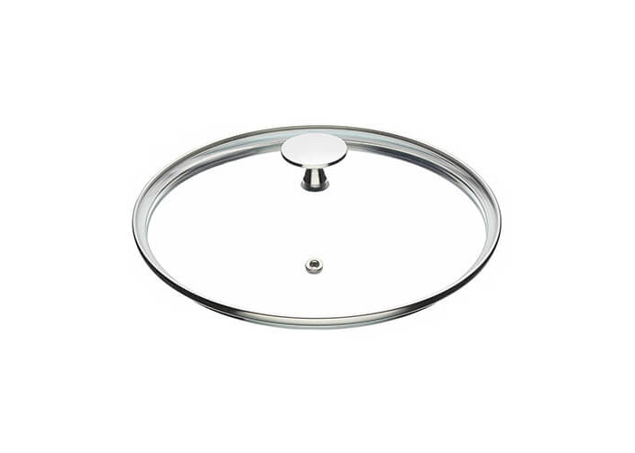 """MasterClass Tempered Glass Saucepan Lid with Stainless Steel Handle, 20 cm (8"""") - 1"""