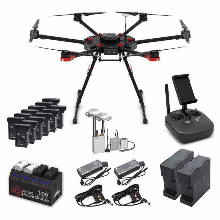 Matrice 600 Drone - with VR Virtual Reality Gimbal (+ Operator) - 2