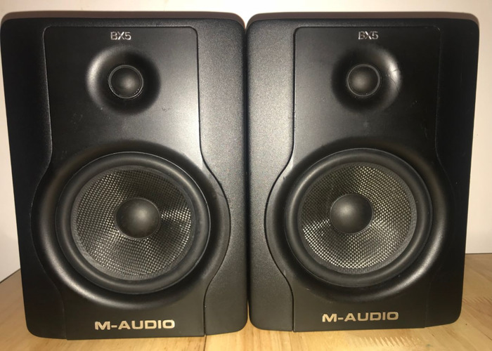 M-Audio BX5 D2 Monitors/Speakers  - 1