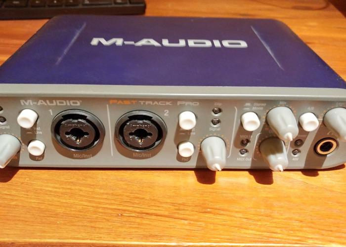 M-AUDIO Fast Track Pro - 1