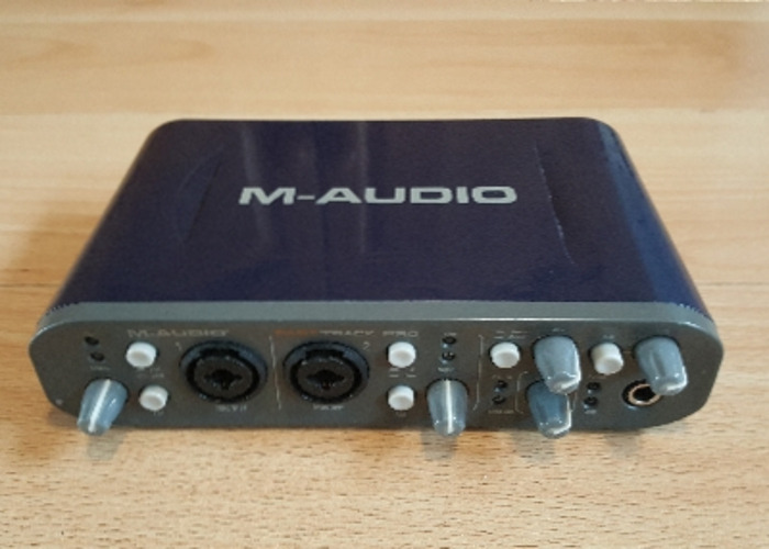 M-Audio Fast track Pro USB audio interface - 1