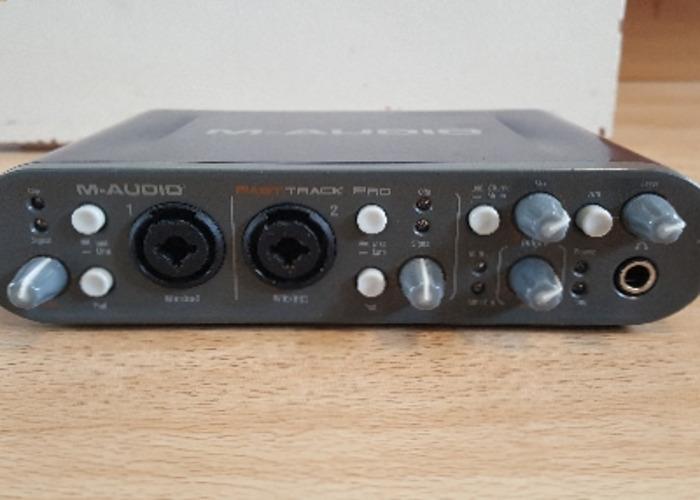 M-Audio Fast track Pro USB audio interface - 2
