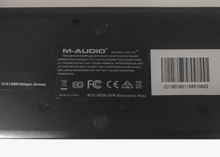 M-AUDIO Keystation Mini 32 - 2