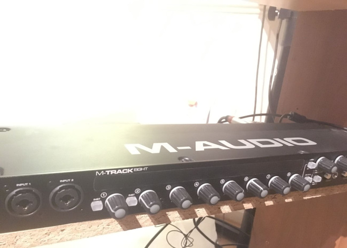 M-Audio M-Track Eight Eight-Channel USB Audio Interface - 1