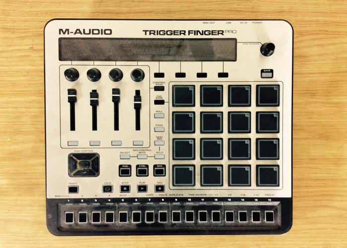 M-Audio Trigger Finger Pro - MIDI Controller - 1