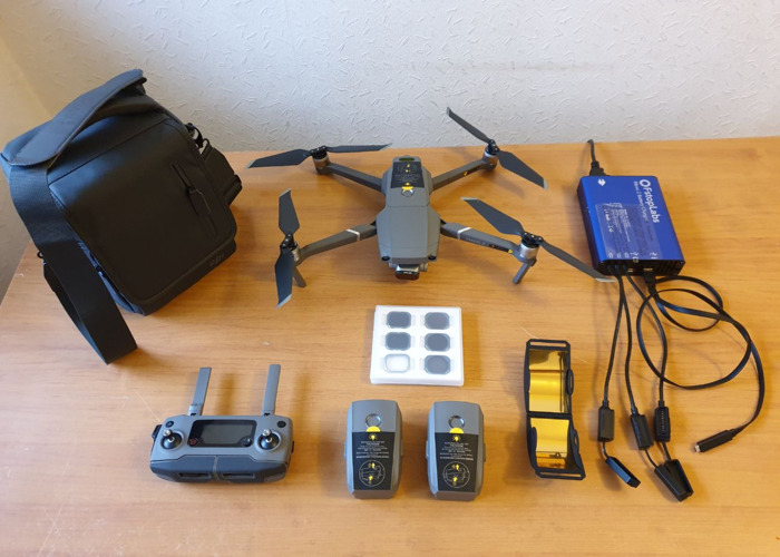 Mavic 2 Pro Fly More w 6 Lens Filters, 128GB SD Card - 1