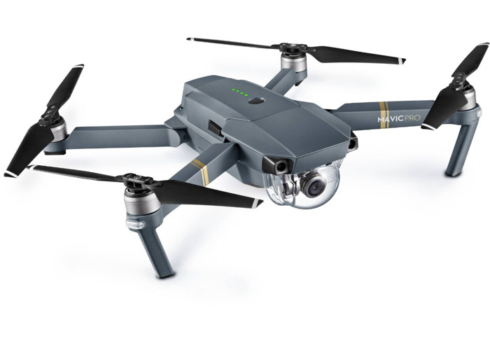 Mavic Pro Drone w/ 2 batteries + wall & car charger  - 1