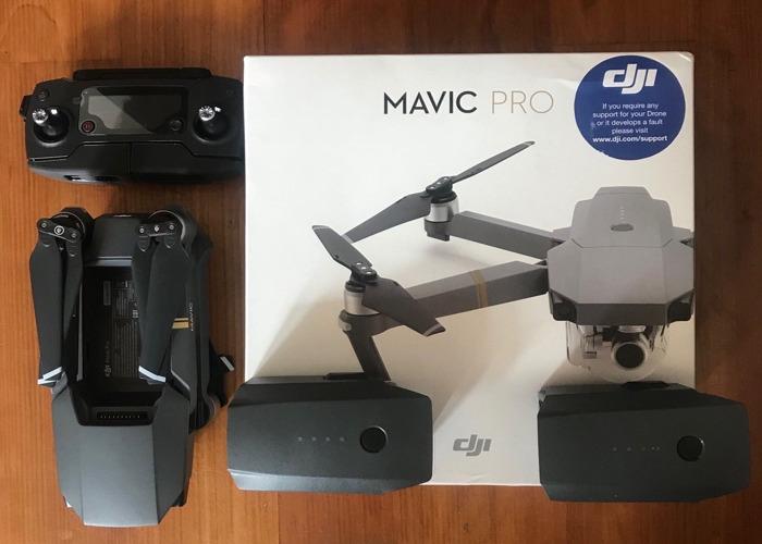 Mavic Pro Drone con batería de repuesto - 1