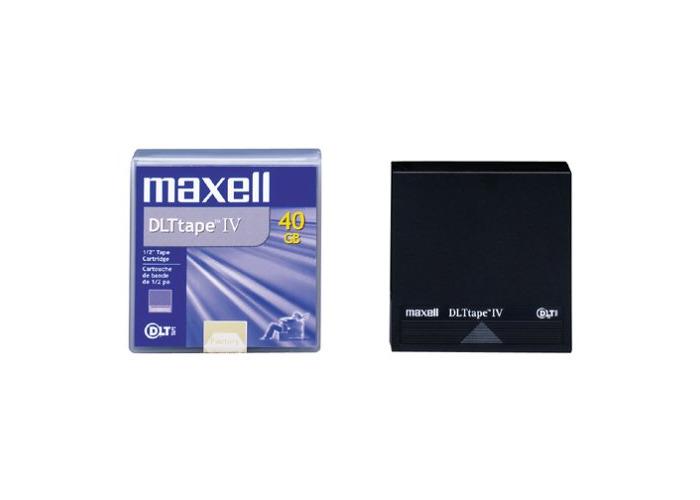 Maxell DLTtape IV Virgin Tape DLT, 80GB, 1000000pass (S), 12MB/s, 40GB) - 1