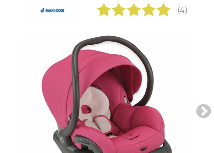 Rent Maxi Cosi Infant Pink Car Seat In Brooklyn