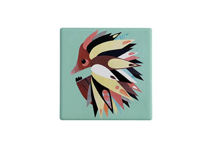 Maxwell & Williams Pete Cromer Ceramic Square 9.5cm Coaster Echinda - 1