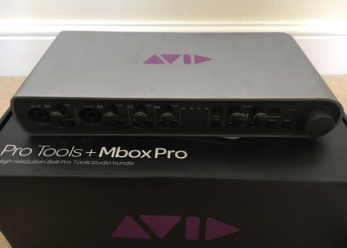 Mbox Pro Audio Interface  - 2