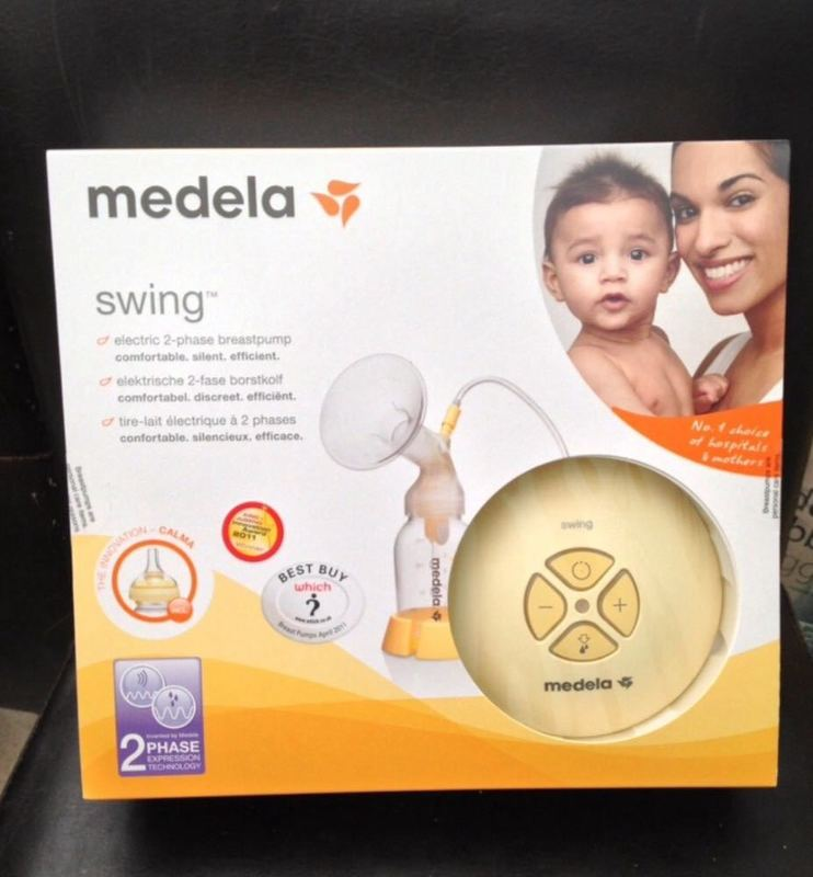 Medela Breast Pump with Calma Teat - 1