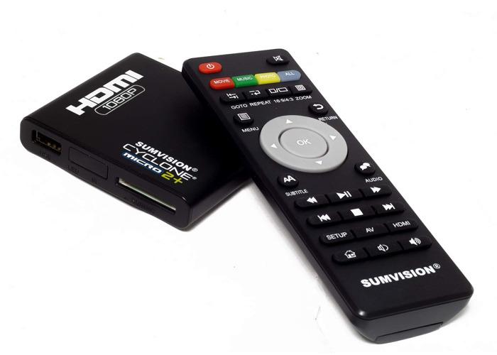 Media Player Sumvision Cyclone Micro 2+ Full HD HDMI 1080p - 1