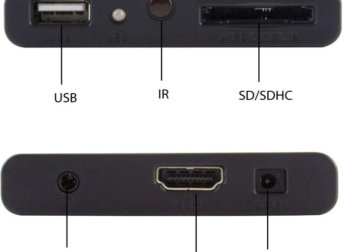 Media Player Sumvision Cyclone Micro 2+ Full HD HDMI 1080p - 2