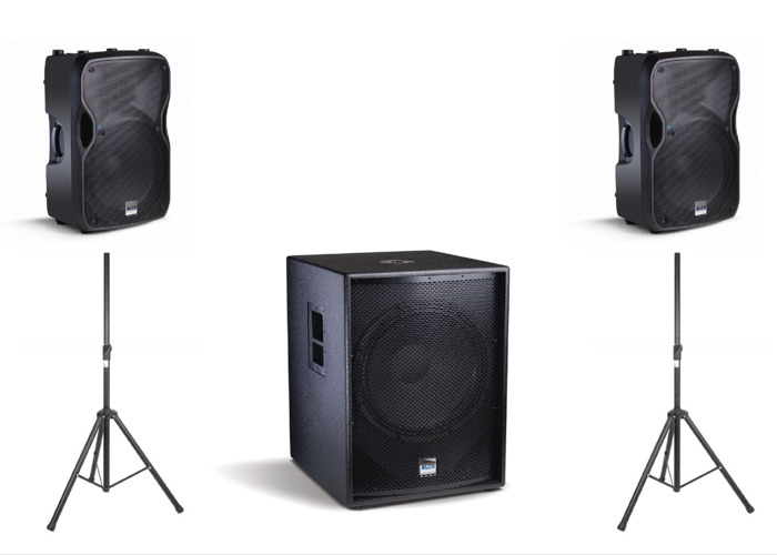 Medium 2800W <100 Guests Speaker Package (Delivery / Collection available) - 1