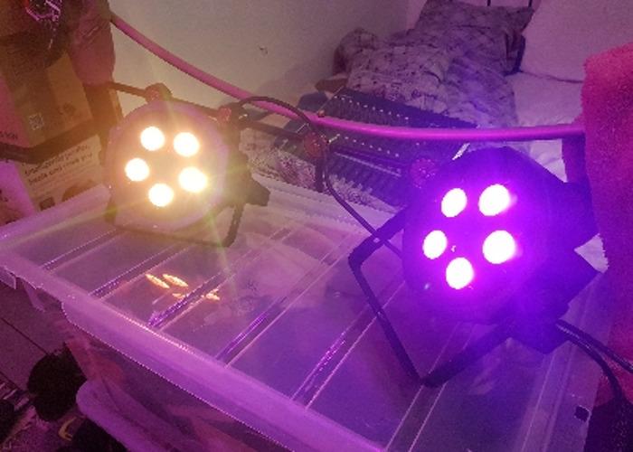 Mega Tri PAR Prifile lights pair - 2