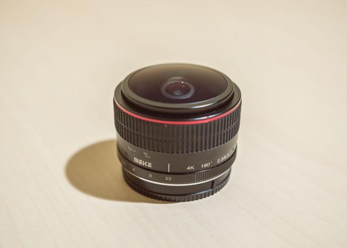Meike 6.5mm f2 for MFT cameras  - 1