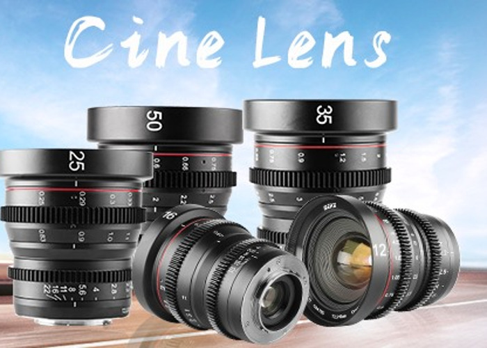 MEKE CINE LENS 5 SET WITH variable ND & Close up lens kit - 1